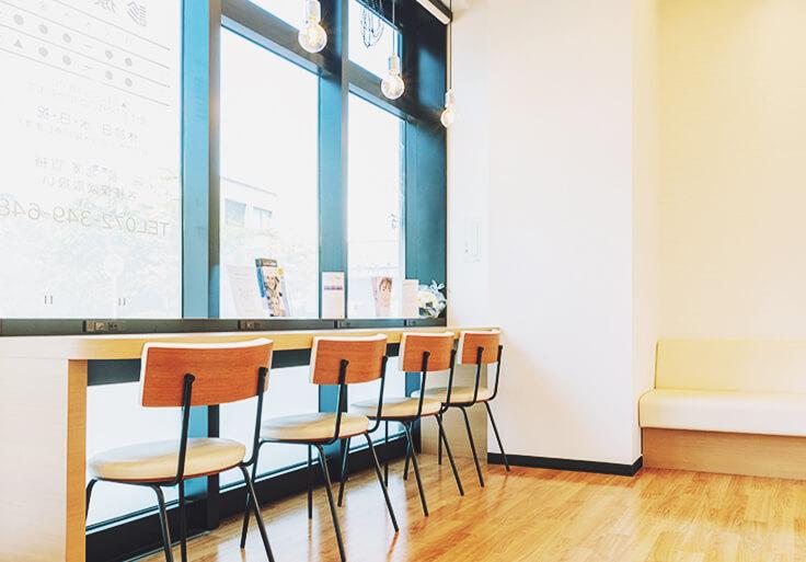 カフェのように居心地のよい空間